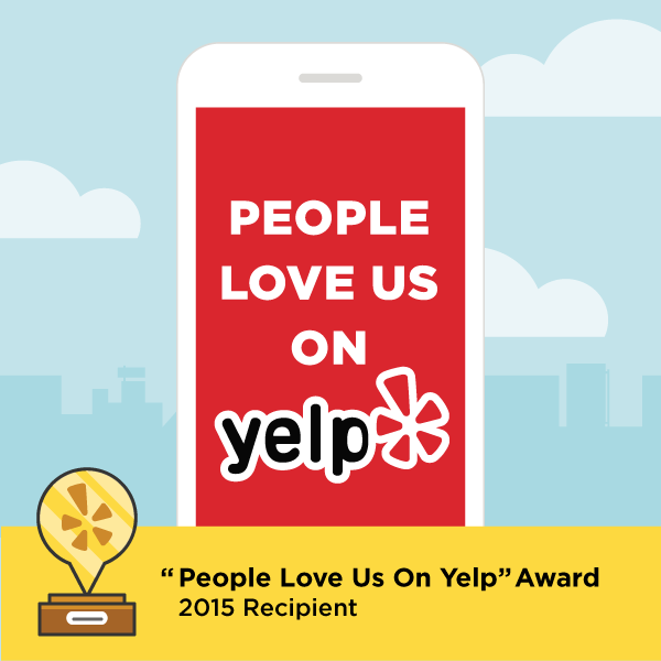 2015 People Love Us On Yelp Award